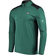 Majestic Men's Dallas Stars Ultra Green Quarter-Zip Pullover