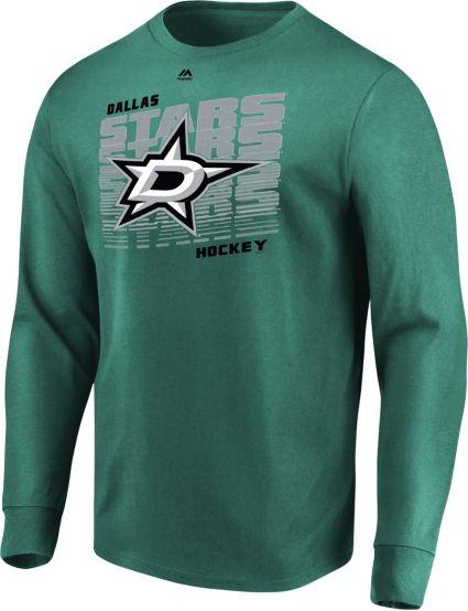 quality design 72956 72cbf Majestic Men s Dallas Stars Penalty Shot Green Long Sleeve Shirt.  noImageFound. Previous. 1