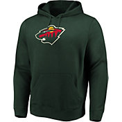 Majestic Men's Minnesota Wild Perfect Play Green Hoodie