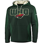 Majestic Men's Minnesota Wild Armor Green Hoodie