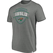 Majestic Men's Minnesota Wild Flex Classic Heather Grey T-Shirt