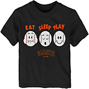"Majestic Toddler San Francisco Giants ""Eat Sleep Play"" T-Shirt"