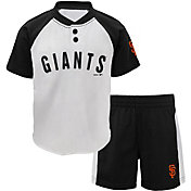 Majestic Toddler San Francisco Giants Good Hit Shorts & Top Set