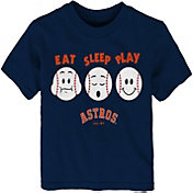 "Majestic Toddler Houston Astros ""Eat Sleep Play"" T-Shirt"