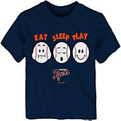 "Majestic Toddler Detroit Tigers ""Eat Sleep Play"" T-Shirt"