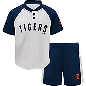 Majestic Toddler Detroit Tigers Good Hit Shorts & Top Set