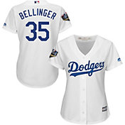 Majestic Women's 2018 World Series Replica Los Angeles Dodgers Cody Bellinger Cool Base Home White Jersey