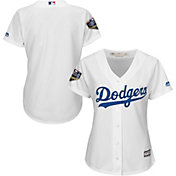 Majestic Women's 2018 World Series Replica Los Angeles Dodgers Cool Base Home White Jersey