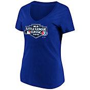 e3ab451a1e7 Product Image · Majestic Women s 2018 Little League Classic Royal V-Neck  T-Shirt