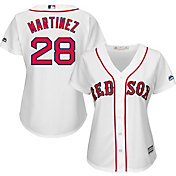 Majestic Women's Replica Boston Red Sox J.D. Martinez #28 Cool Base Home White Jersey