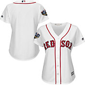 Majestic Women's 2018 World Series Replica Boston Red Sox Cool Base Home White Jersey