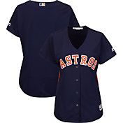 Majestic Women's Replica Houston Astros Cool Base Alternate Navy Jersey