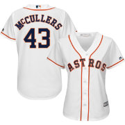 Majestic Women's Replica Houston Astros Lance McCullers #43 Cool Base Home White Jersey