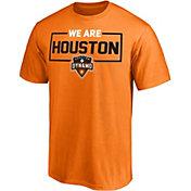 Majestic Men's Houston Dynamo We Are Orange T-Shirt