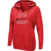 fa1b3d20ac8 Product Image · Majestic Women s Chicago Blackhawks Raise The Level Red  Hoodie