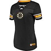 Majestic Women's Boston Bruins Draft Me Black V-Neck T-Shirt