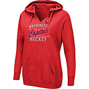 Majestic Women's Washington Capitals Raise The Level Red Hoodie