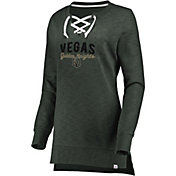 Majestic Women's Vegas Golden Knights Hyper Lace Black Long Sleeve Shirt