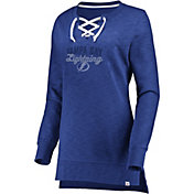 Majestic Women's Tampa Bay Lightning Hyper Lace Blue Long Sleeve Shirt