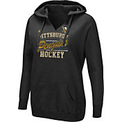 Majestic Women's Pittsburgh Penguins Raise The Level Black Hoodie