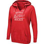 Majestic Women's Detroit Red Wings Raise The Level Red Hoodie