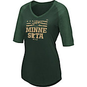 Majestic Women's Minnesota Wild My Team Green V-Neck T-Shirt