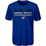 Majestic Youth Toronto Blue Jays Dri-Tek Wild Card T-Shirt