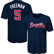 Majestic Youth Atlanta Braves Freddie Freeman #5 Performance T-Shirt