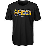 Majestic Youth Salt Lake Bees Black T-Shirt