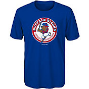 Majestic Youth Buffalo Bisons Royal T-Shirt