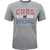 Majestic Youth Chicago Cubs Hall-of-Fame Tri-Blend T-Shirt