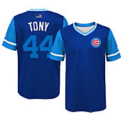 "Majestic Youth Chicago Cubs Anthony Rizzo ""Tony"" MLB Players Weekend Jersey Top"