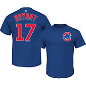 Majestic Boys' Chicago Cubs Kris Bryant #17 Royal T-Shirt