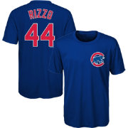 Majestic Youth Chicago Cubs Anthony Rizzo #44 Performance T-Shirt