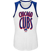 Majestic Youth Girls' Chicago Cubs Ballpark Tank