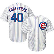 a4c40f0e5 Product Image · Youth Replica Chicago Cubs Willson Contreras #40 Home White  Jersey