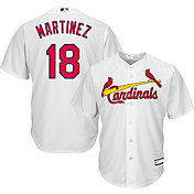 Youth Replica St. Louis Cardinals Carlos Martinez #18 Home White Jersey