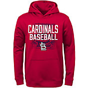Majestic Youth St. Louis Cardinals Navy Hoodie