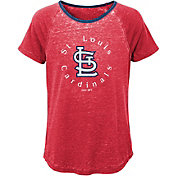 Majestic Youth Girls' St. Louis Cardinals Dugout Diva Shirt