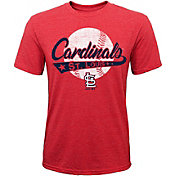 Majestic Youth St. Louis Cardinals Flagship Tri-Blend T-Shirt