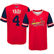 "Majestic Youth St. Louis Cardinals Yadier Molina ""Yadi"" MLB Players Weekend Jersey Top"