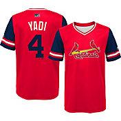 "Majestic Youth St. Louis Cardinals Yadier Molina ""Yadi"" MLB Players Weekend Jersey Top"
