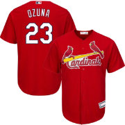 Youth Replica St. Louis Cardinals Marcell Ozuna #23 Alternate Red Jersey