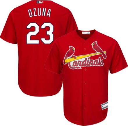966228804 Youth Replica St. Louis Cardinals Marcell Ozuna #23 Alternate Red Jersey