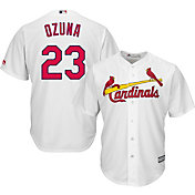 Youth Replica St. Louis Cardinals Marcell Ozuna #23 Home White Jersey