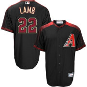 Youth Replica Arizona Diamondbacks Jake Lamb #22 Alternate Black Jersey