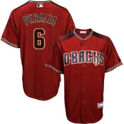 Youth Replica Arizona Diamondbacks David Peralta #6 Alternate Red Jersey