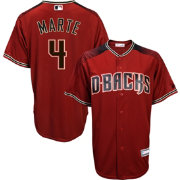 Youth Replica Arizona Diamondbacks Ketel Marte #4 Alternate Red Jersey