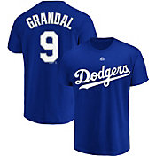 Majestic Youth Los Angeles Dodgers Yasmani Grandal #9 Royal T-Shirt
