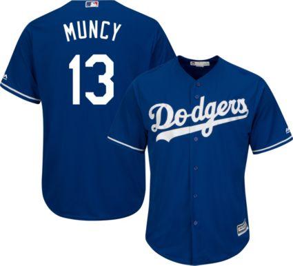 ... Dodgers Max Muncy  13 Cool Base Alternate Royal Jersey. noImageFound b8ed1ddbc9a
